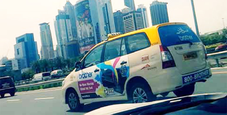 Taxi Advertising,Hoarding Advertising Company In Dubai,UAE