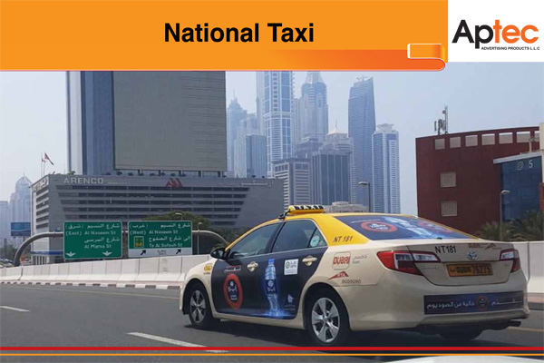 VEHICLE GRAPHICS TAXI ADVERTISING COMPANY IN DUBAI